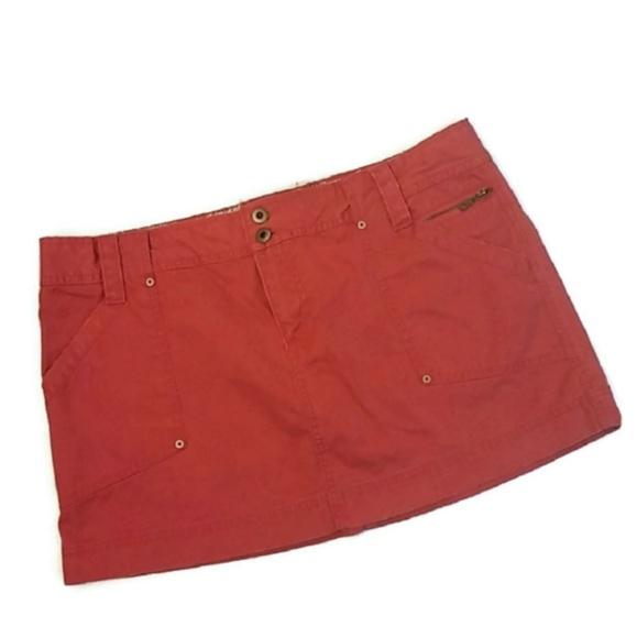 Old Navy Dresses & Skirts - Vintage Old Navy Orange/Red Low Rise Mini Skirt
